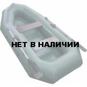Надувная лодка Лидер Компакт-255 (зеленая)