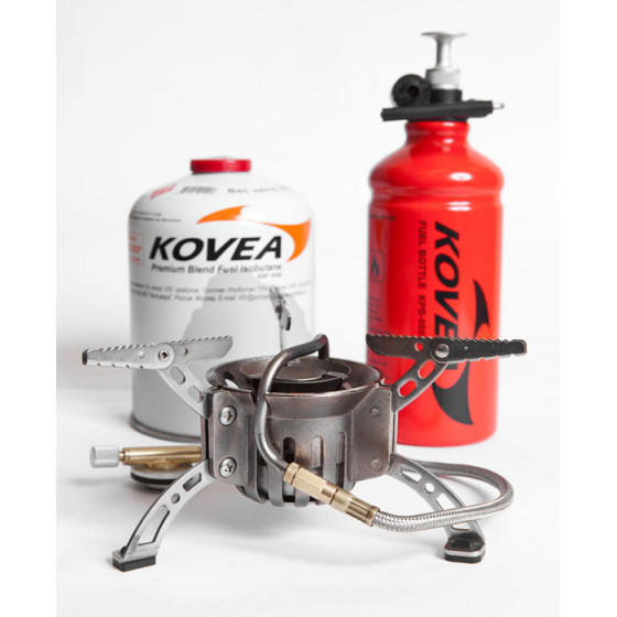 Горелка мультитопливная Kovea (газ-бензин) КВ-0603 (с флягой)