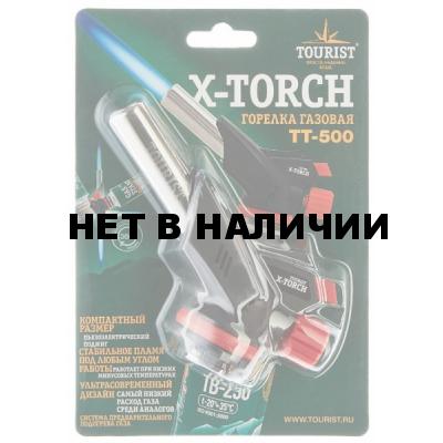 Резак газовый Tourist X-Torch TT-500 с пьезоподжигом и системой подогрева газа