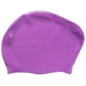 Шапочка для плавания Dobest KW30 для длинных волос (силикон)