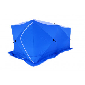 Палатка для зимней рыбалки Стэк Куб-3 трехслойная Дубль