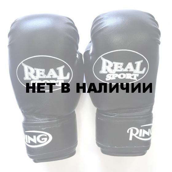 Перчатки боксерские Realsport 10 унций ES-0636