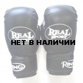 Перчатки боксерские Realsport 12 унций ES-0637