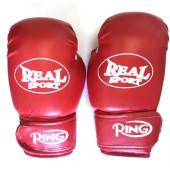 Перчатки боксерские Realsport 12 унций ES-0632