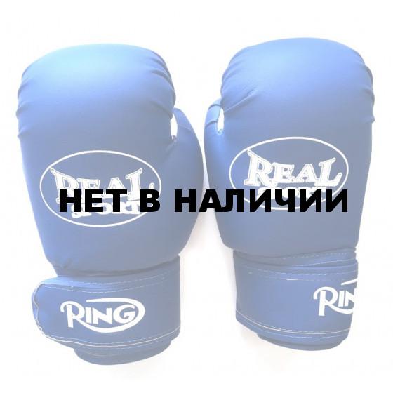 Перчатки боксерские Realsport 10 унций ES-0641