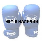 Перчатки для кикбоксинга Realsport 12 унций RS212