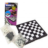 Игра 3 в 1 (шашки, шахматы, нарды магнитные) TX18674