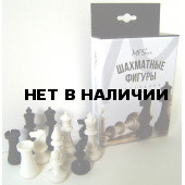 Фигуры шахматные обиходные, пластиковые 02-106K