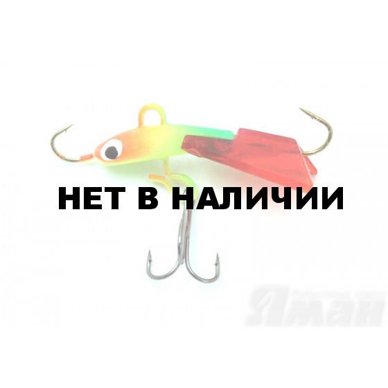 Балансир Яман Барабулька, 3 см, 3,2 г, цвет 37
