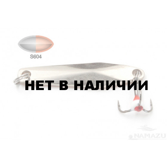 Блесна зимняя Namazu Slide, размер 48 мм, 7 г, цвет S604 N-VSD7-604