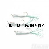 Мормышка Яман Малек пыздрик с ушком, L-18 мм, 0,3 г, Kumho №4, цвет зеленый (3 шт.) Я-МР1899