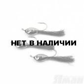 Мормышка Яман Подсадка малек с ушком, L-11 мм, 0,2 г, №8, цвет черный (3 шт.) Я-МР1861