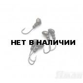 Мормышка Яман муравей с отв., цвет BN, d 4 (5 шт.) Я-МР66