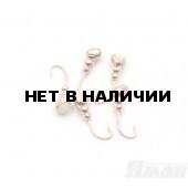 Мормышка Яман муравей с отв., цвет Copper Plated, с фосф. пяткой, d 3 (5 шт.) Я-МР159