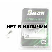 Мормышка Яман муравей с отв., цвет NL, d 4 (5 шт.) Я-МР63
