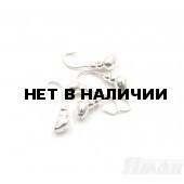 Мормышка Яман муравей с отв., цвет Silver Plated, d 4 (5 шт.) Я-МР65