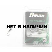 Мормышка Яман уралка с отв., цвет NL, d 5 (5 шт.) Я-МР93