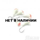 Мормышка Яман уралка с ушком., цвет 19, с красн. пяткой, d 3 (5 шт.) Я-МР793
