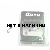 Мормышка Яман шар с отв., цвет BN, d 4 (5 шт.) Я-МР106