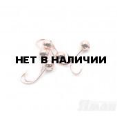 Мормышка Яман шар с отв., цвет Copper Plated, d 5 (5 шт.) Я-МР112