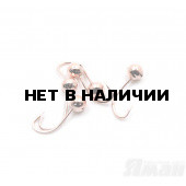 Мормышка Яман шар с отв., цвет Copper Plated, d 6 (5 шт.) Я-МР122