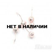 Мормышка Яман шар с отв., цвет Copper Plated, d 6, гран. (5 шт.) Я-МР117