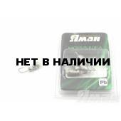 Мормышка Яман шмель с отв., цвет NL, с фосф. пяткой (5 шт.) Я-МР131