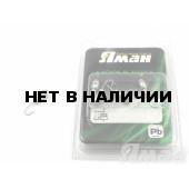 Мормышка Яман щелкун с отв., цвет NL (5 шт.) Я-МР33