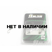 Мормышка Яман щелкун с отв., цвет NL с фосф. пяткой (5 шт.) Я-МР135