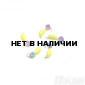 Мормышка безнасадочная Яман Банан желтый, d-4 мм, 1 г, кубик хамелеон (5 шт.) Я-МР1830
