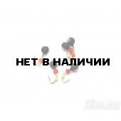Мормышка вольфрам Яман Дробь коронка медь, d-4 мм, 0,6 г (5 шт.) Я-МР1377