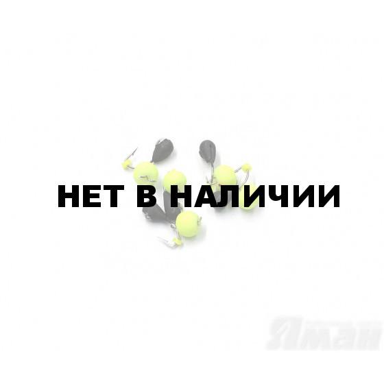 Мормышка вольфрам безнасадочная Яман Капля коронка никель, d-3 мм, 0,5 г (5 шт.) Я-МР1298