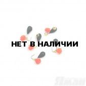Мормышка вольфрам безнасадочная Яман Капля коронка латунь, d-3 мм, 0,5 г (5 шт.) Я-МР1567
