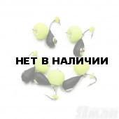 Мормышка вольфрам безнасадочная Яман Капля коронка латунь, d-4 мм, 1,1 г (5 шт.) Я-МР1393