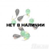 Мормышка вольфрам безнасадочная Яман Капля коронка медь, d-3 мм, 0,5 г (5 шт.) Я-МР1294