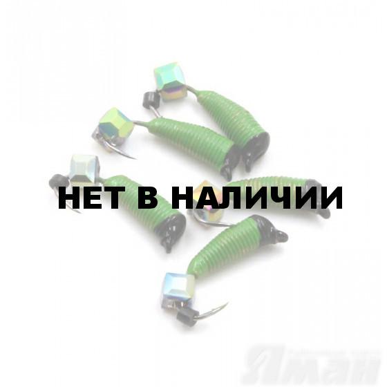 Мормышка вольфрам безнасадочная Яман Ручейник №4, d-2 мм, L-8.5 мм, 0,70 г (5 шт.) Я-МР1129