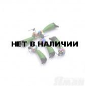 Мормышка вольфрам безнасадочная Яман Ручейник №6, d-2.5 мм, L-8.5 мм, 0,90 г (5 шт.) Я-МР1172
