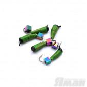 Мормышка вольфрам безнасадочная Яман Ручейник №7, d-2.5 мм, L-9.5 мм, 1,00 г (5 шт.) Я-МР1189