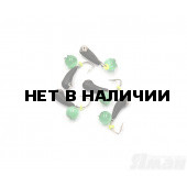 Мормышка вольфрам безнасадочная Яман Уралка коронка никель, d-3 мм, 0,8 г (5 шт.) Я-МР1415