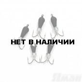 Мормышка вольфрам безнасадочная Яман Черт коронка никель (кор.), d-3 мм, 0,6 г (5 шт.) Я-МР1341