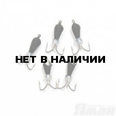 Мормышка вольфрам безнасадочная Яман Черт коронка никель (кор.), d-4 мм, 1,1 г (5 шт.) Я-МР1438
