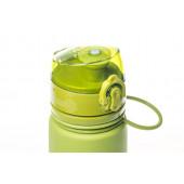 Бутылка силиконовая 500 мл Tramp TRC-093 (оливковый)