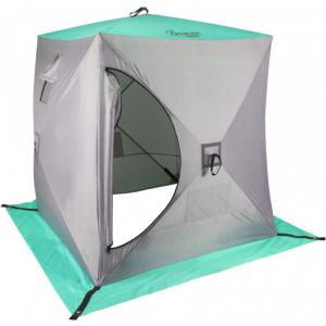 Зимняя палатка Куб Premier 1,5х1,5 (серый)