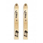 Лыжи Тайга Маяк деревянные 155*15 см