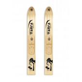 Лыжи Тайга Маяк деревянные 185*15 см