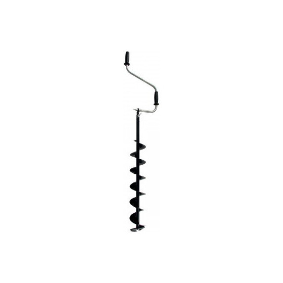 Ледобур Торнадо М2 (диаметр 100) без чехла, двуручный, телескопический, левый, прямые ножи