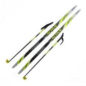 Лыжный комплект SNN Step Snowway (лыжи, палки, креп. SNN) 160 см