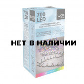 Светодиодная гирлянда (мультиколор) Luca lights 83778 для улицы и дома 1400 см