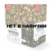 Светодиодная гирлянда (теплый свет) Winter Glade CK1000 для улицы и дома 2000 см