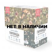 Светодиодная гирлянда (холодный бел. свет) Winter Glade CC550 для улицы и дома 1100 см